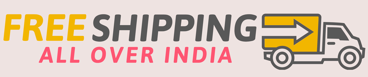 free shipping all over india