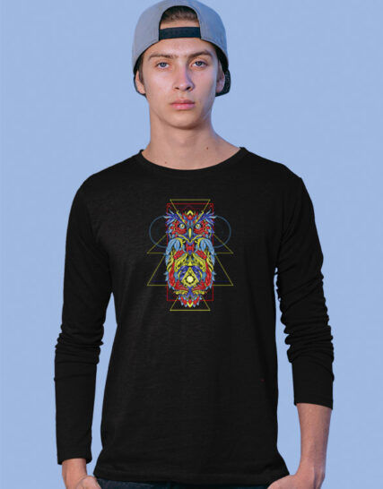 Geometric Owl-4