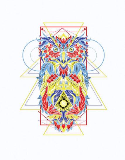 Geometric Owl4