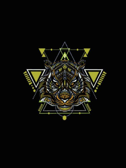 Geometric Tiger3