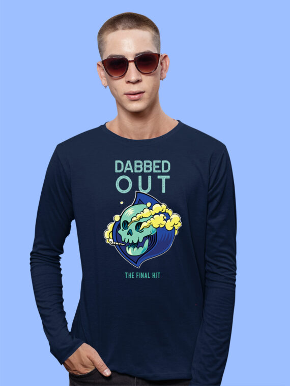DABBED-OUT Black Full Sleeves Big Prints For Mens 5