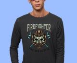 Firefighter_1 Grey Full Big Prints For Men's 1