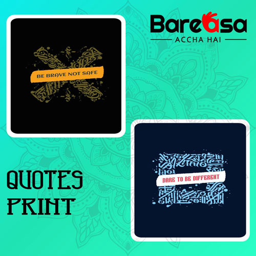 quotes print t-shirts
