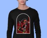 Devil-Skate-1 Black Full Big Print T-Shirt For Men 1
