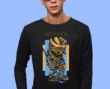Hockey Print Tshirts For Men