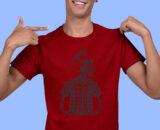 Red Half Sleeve T shirts