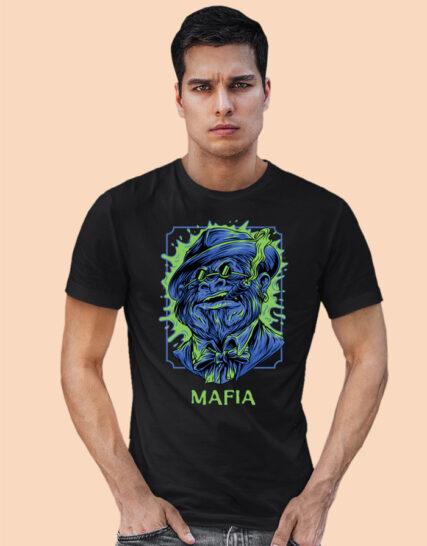 Big printed half sleeves tshirts for men