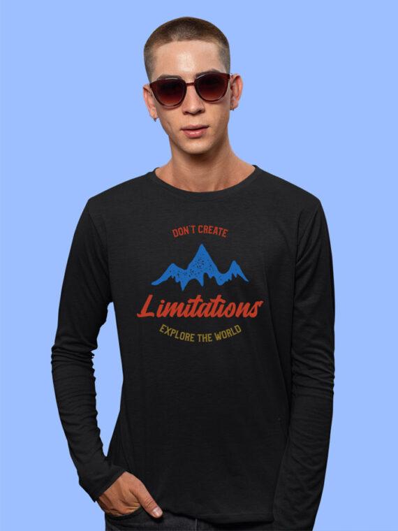 online full sleeves tshirts for men