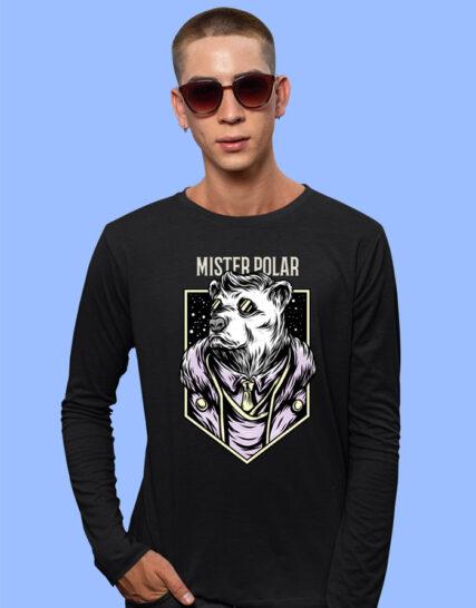 big print full sleeves tshirts for men